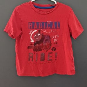 Thomas & Friends red short sleeved t-shirt